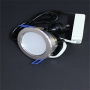 10W LED Silver Ceiling Light Kit