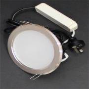 20W LED Silver Ceiling Light Kit