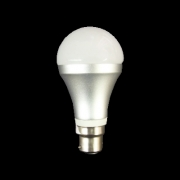 5W Brushed Alum LED Light Bulb B22